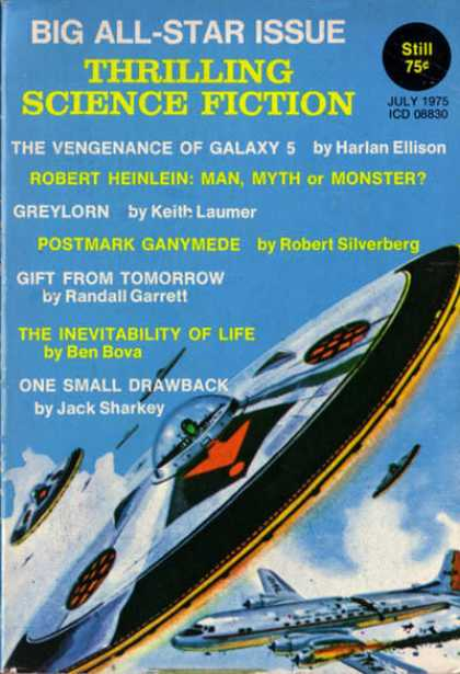 Thrilling Science Fiction - 6/1975