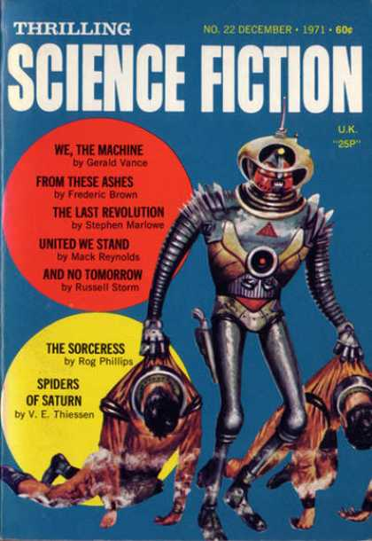 Thrilling Science Fiction - 12/1971