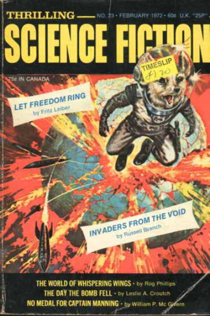 Thrilling Science Fiction - 2/1972