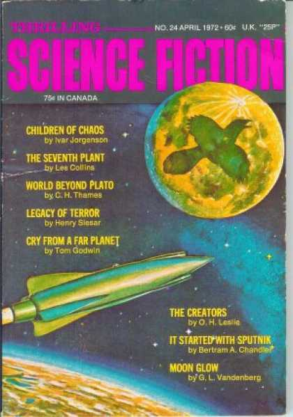 Thrilling Science Fiction - 4/1972