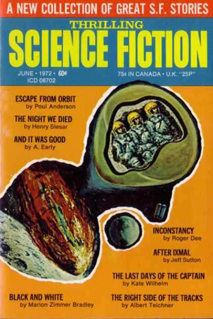 Thrilling Science Fiction - 6/1972