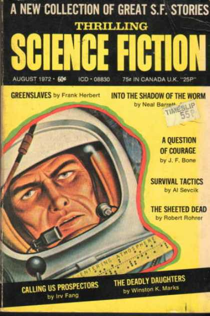 Thrilling Science Fiction - 8/1972