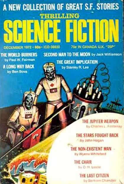 Thrilling Science Fiction - 12/1972