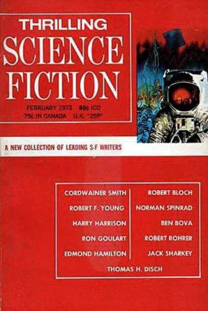 Thrilling Science Fiction - 2/1973