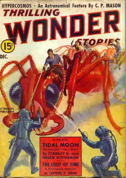 Thrilling Wonder Stories 12