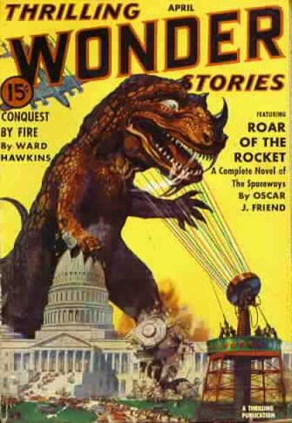 Thrilling Wonder Stories 20