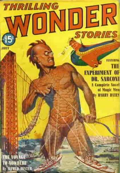 Thrilling Wonder Stories 21