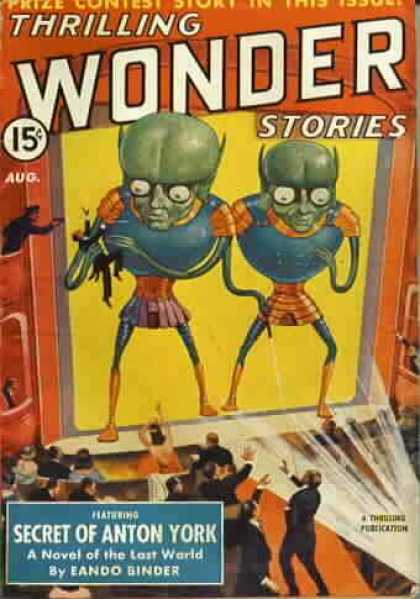 Thrilling Wonder Stories 22
