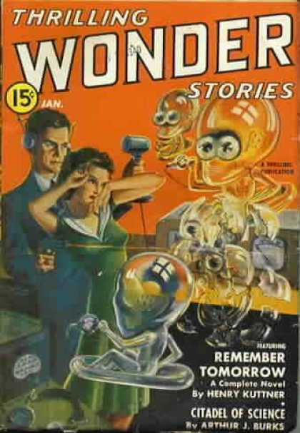 Thrilling Wonder Stories 25