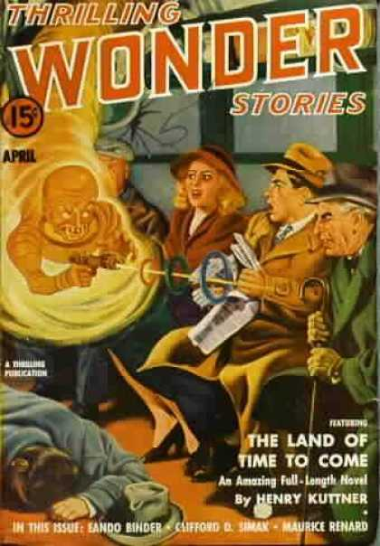 Thrilling Wonder Stories 28