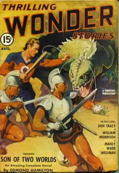 Thrilling Wonder Stories 30