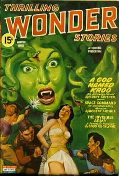 Thrilling Wonder Stories 45