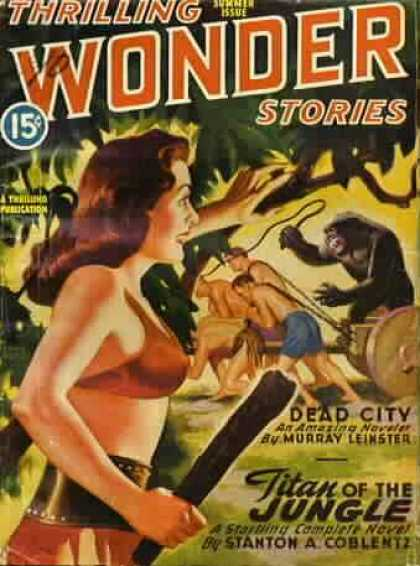 Thrilling Wonder Stories 49