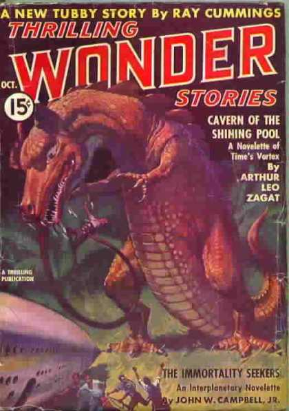 Thrilling Wonder Stories 7