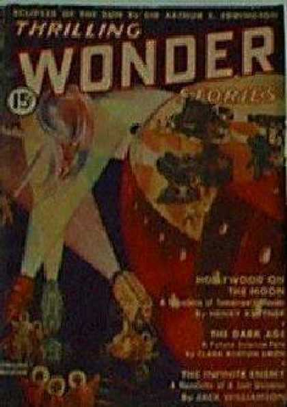 Thrilling Wonder Stories 8
