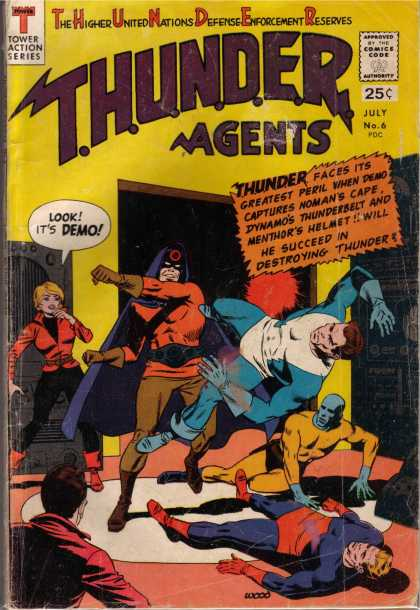 Thunder Agents 6 - Thunder Agents - Demo - Moman - Dynamos - Menthor