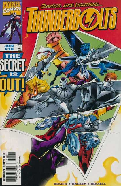 Thunderbolts 10 - Mark Bagley