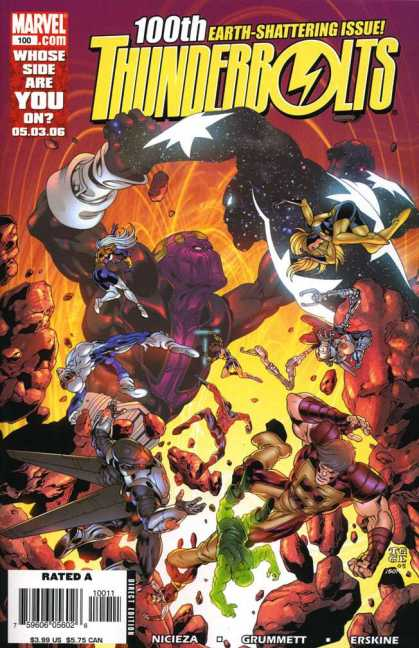 Thunderbolts 100 - Tom Grummett