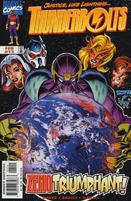 Thunderbolts 11 - Mark Bagley