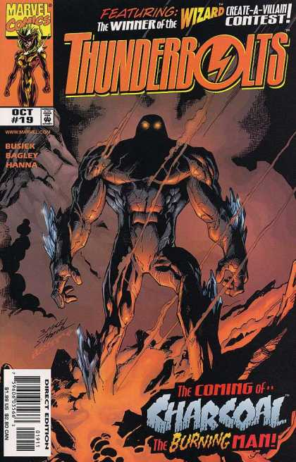 Thunderbolts 19 - Charcoal - Wizard - Marvel Comics - Monster - Issue 19 - Mark Bagley