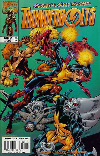 Thunderbolts 20 - Mark Bagley