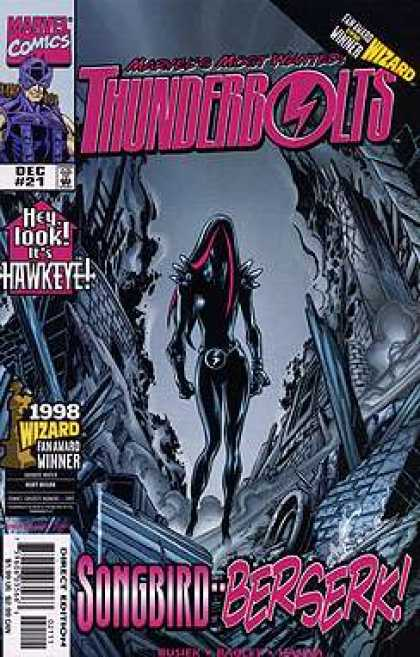 Thunderbolts 21 - Mark Bagley
