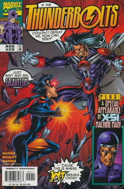Thunderbolts 29 - Mark Bagley