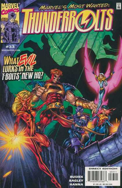 Thunderbolts 33 - Mark Bagley