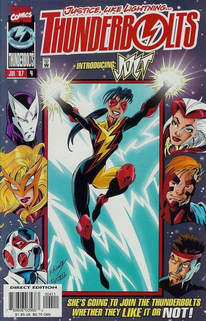 Thunderbolts 4 - Mark Bagley