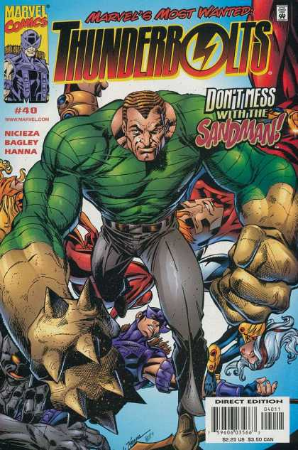 Thunderbolts 40 - Mark Bagley