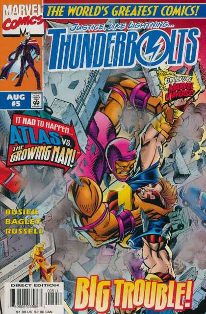 Thunderbolts 5 - Mark Bagley