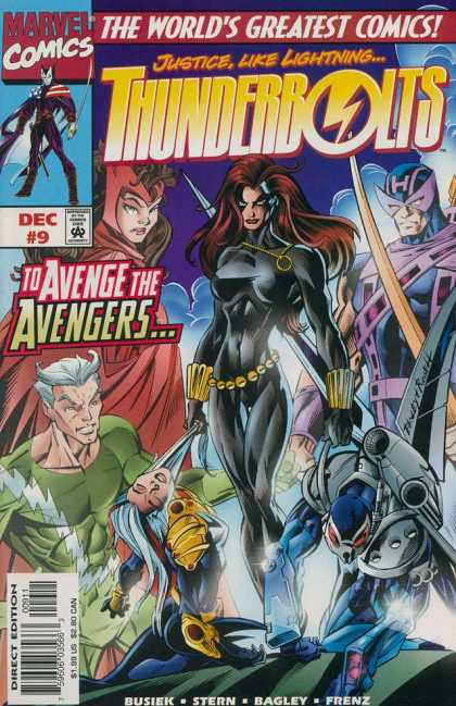 Thunderbolts 9 - Mark Bagley
