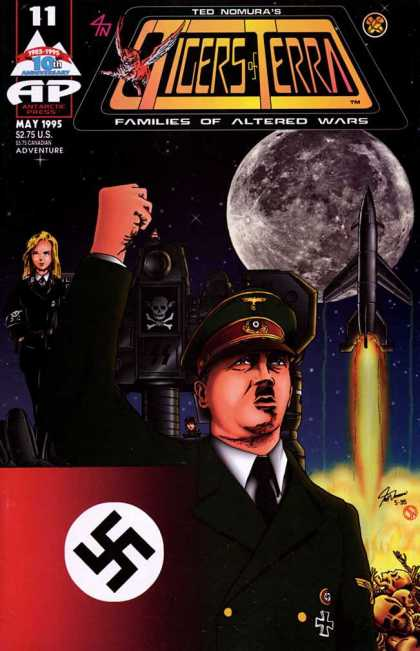 Tigers of Terra 11 - Nazi - Hitler - May - Rocket - Full Moon