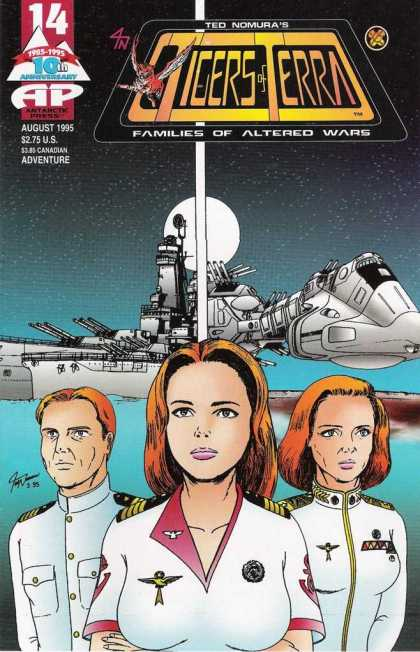 Tigers of Terra 14 - Antartic Press - Modern Age - Sci-fi Stories - Altered Wars - Space