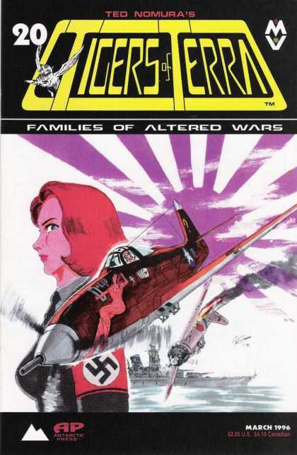 Tigers of Terra 20 - Families Of Altered Wars - Nazi - Airplane - Ted Nomura - Zero