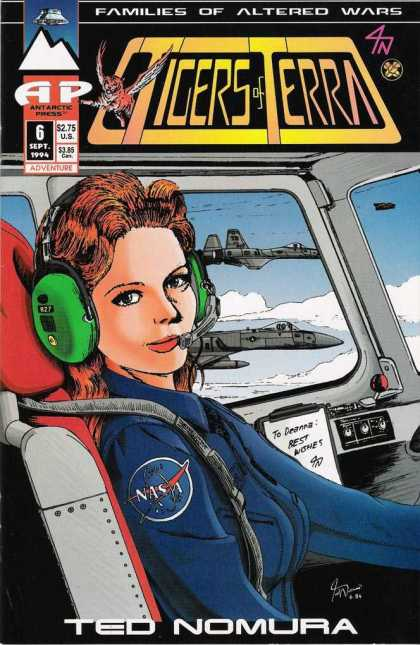 Tigers of Terra 6 - Fighter Jets - Flight - Pilot - Nasa - Ted Nomura