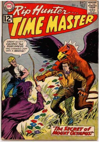 Time Master 11 - Griffin - Magic - Time Master - Greek Mythology - Flowers