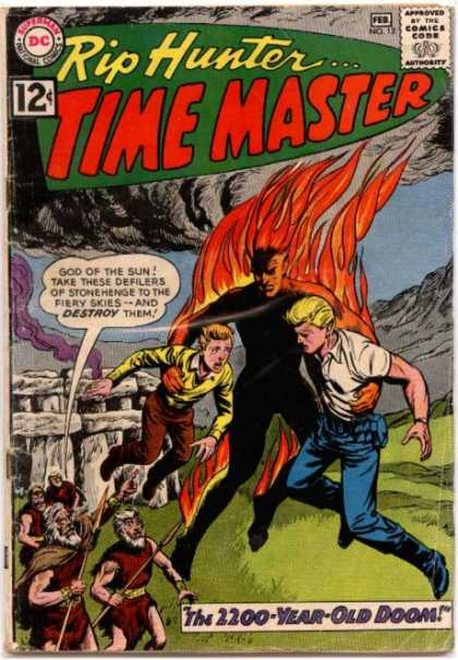 Time Master 12 - Fire - Smoke - Hero - Hell - Stone Age