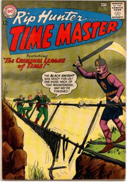 Time Master 16 - Rip Hunter - Superman - Criminal League - Black Knight - Comics Code
