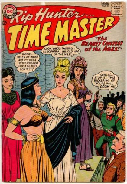 Time Master 21 - Dc - Rip Hunter - Beauty Contest Of The Ages - Cleopatra - Helen Of Troy