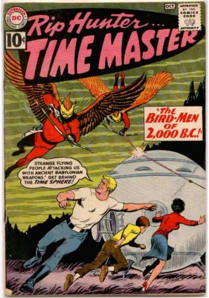 Time Master 4 - Bow And Arrow - Bird Man - Space Craft - Running - Fear
