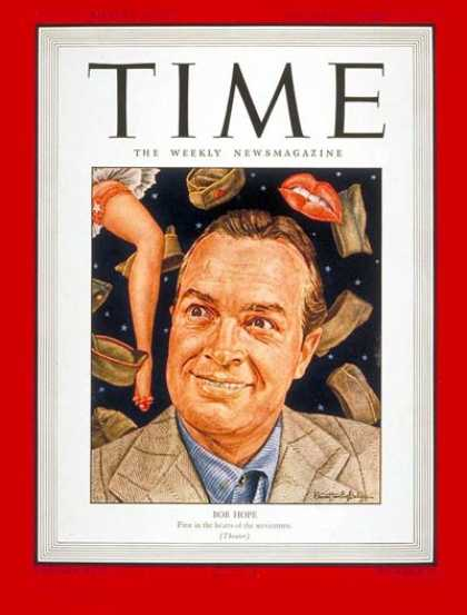 Time - Bob Hope - Sep. 20, 1943 - Comedy - Actors - Television - Most Popular