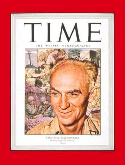 Time - Ernie Pyle - July 17, 1944 - Journalism - World War II