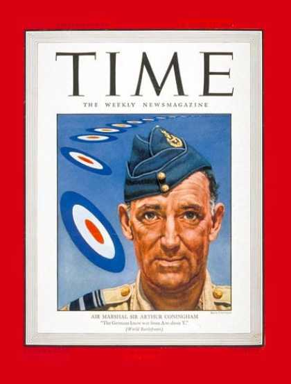 Time - Sir Arthur Coningham - Aug. 14, 1944 - Great Britain - Military
