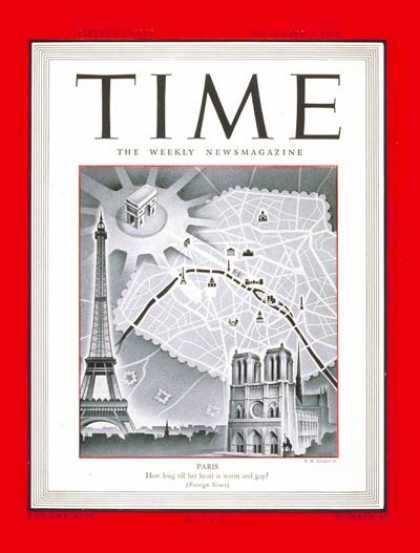 Time - Paris - Sep. 4, 1944 - France