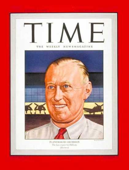 Time - Leroy Randle Grumman - Sep. 11, 1944 - Aviation - Transportation
