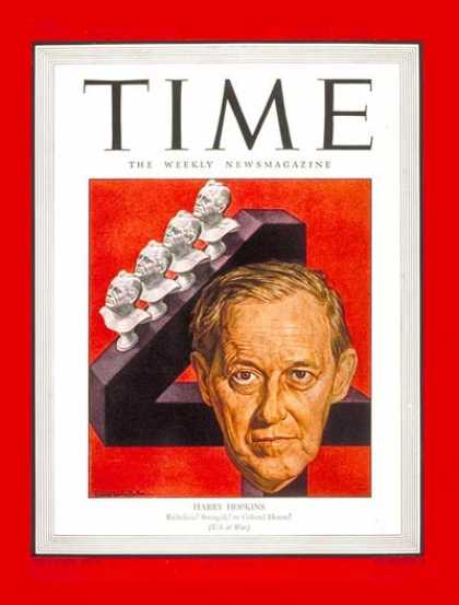 Time - Harry Hopkins - Jan. 22, 1945 - Politics - Washington
