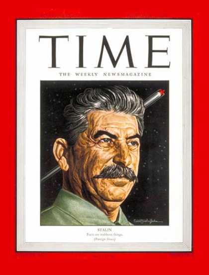 Time - Joseph Stalin - Feb. 5, 1945 - Russia - Communism