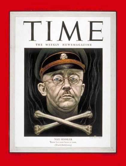 Time - Heinrich Himmler - Feb. 12, 1945 - World War II - Germany - Military - Nazism