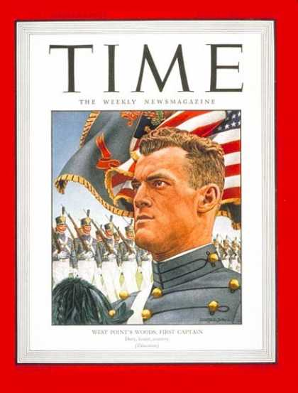 Time - West Pointer Woods - June 11, 1945 - World War II - Army - Military